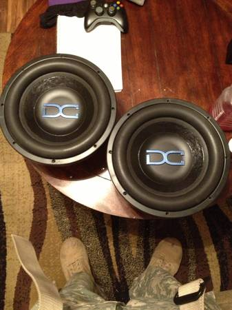 DC Audio Level 3 12s with Level 4 upgrade - $500 (Temple)