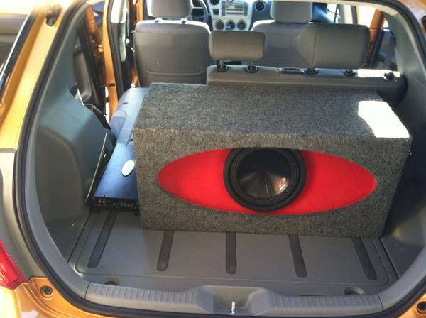 W7 Jl audio high output subwoofer box - $160 (Austin)