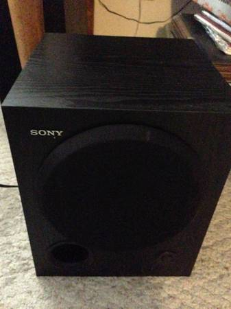 Sony SA-WM250 100-Watt Active Subwoofer - x002475 (bell)
