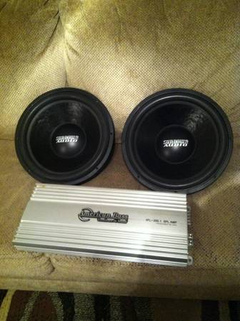 Sundown SA-15s w SPL coils-American Bass VFL - $1 (Temple)