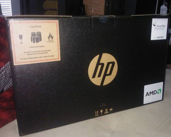 NIB 17.3in HP NOTEBOOK WITH PRINTER (KILLEEN)