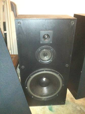 (Reduced) KLH 12quot Tower Speakers quotFANTASTIC SOUNDquot - $40 (Harker Heights)