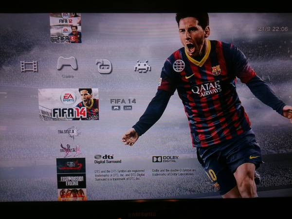 Jailbroken Ps3, 500GB HD, 250 games