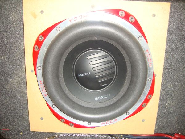 Orion Hcca sub and - $375 (FT. Hood)