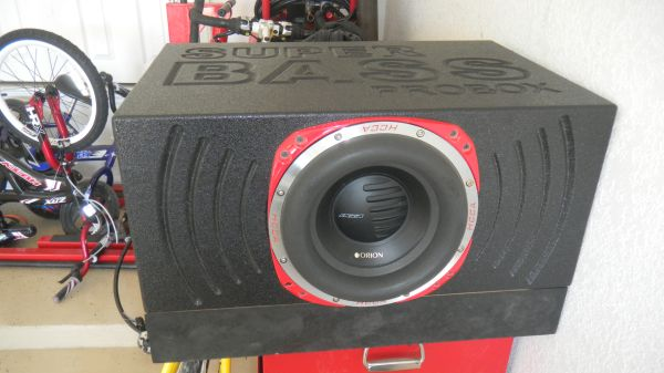 10inch Orion HCCA 3000watts competition sub - $350 (Killeen)