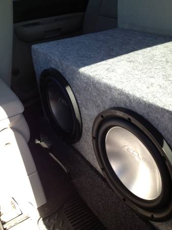 Eclipse 12 subwoofers with custom box - $300 (Fort Hood)