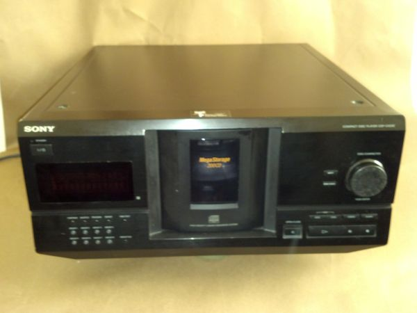 Sony CDP-CX230 200 CD disc player - $50 (Killeen)