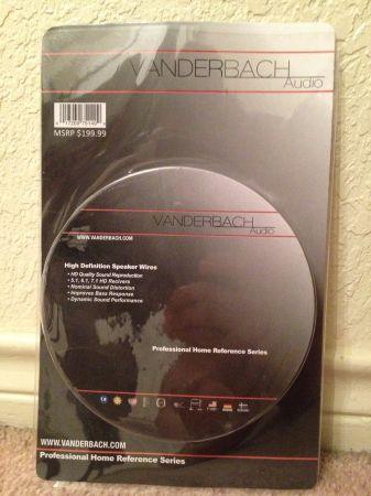 VANDERBACH AUDIO SURROUND SOUND - $1500 (KILLEEN)