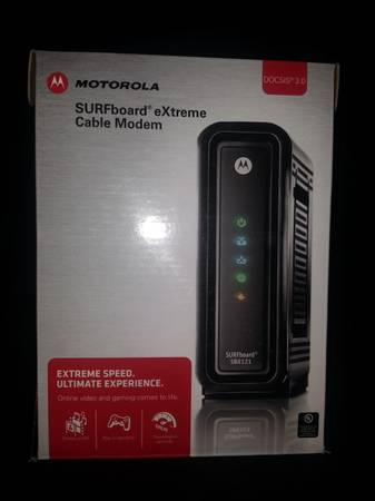 Motorola SB6121 SURFboard eXtreme cable modem - $75 (Killeen)