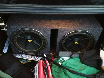 2 kicker 12 cvr comp in nice box - $250 (killeen forthood temple austin waco)