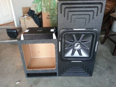 kicker l7 15 hifonics 1500 watt super bass probox - $650 (ws young )