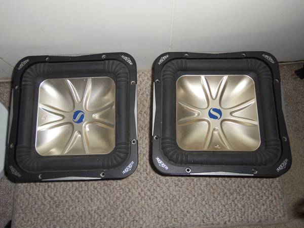 kicker solo baric speakers - $250 (Killeen)