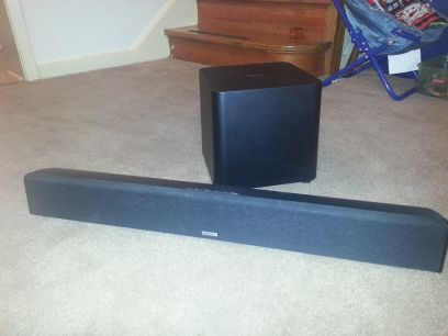 (Wireless) Instant Home Theater Polk audio SurroundBar SDA - $150 (Fort Hood)