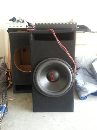 15 FI Audio BL Fully Loaded with box and Audiopipe 1800.1D lifier - $650 (Killeen)
