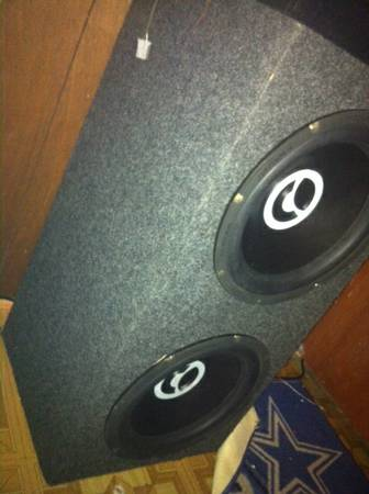 2 12s Bazooka in a sealed BOX With Sony Amp Best Offer - $250 (Killeen Tx)