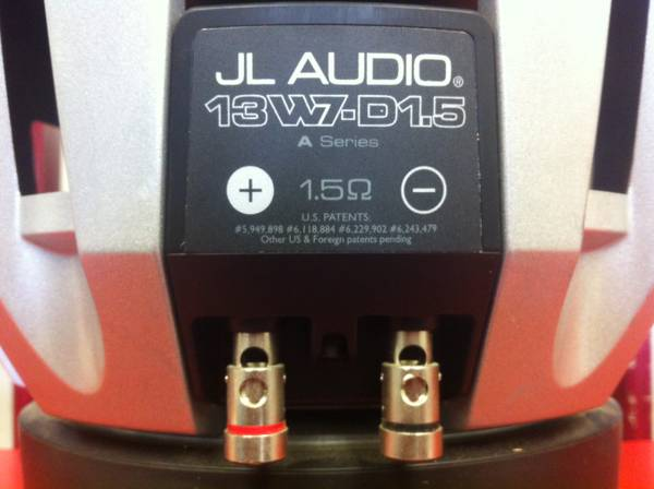 JL Audio 13 W7-D1.5 Subwoofer - $350 (Killeen)