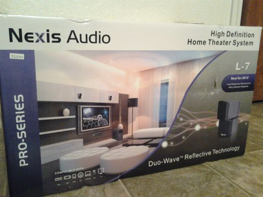 nexis audio L-7 high def. home theater system - $600 (killeen tx)