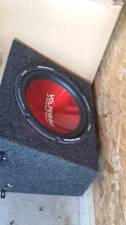 .........................12 german subwoofer need to sell asap - $60 (cove)