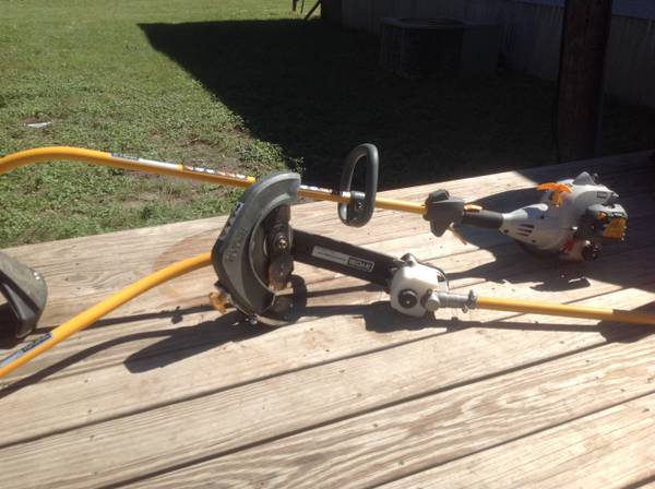 Ryobi weed eater two attachments - $200 (Killeen,hh,nolanville)