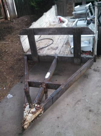 utility trailer (5x9 plus) - $200 (killeen)