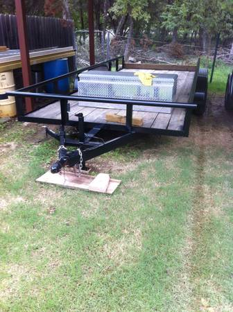 18 Foot Pipe Top Utility Trailer Extra Wide - $2000 (Waco)