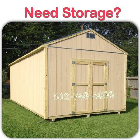 Need Storage Buy Storage Sheds. Built on your property - x00242350 (temple)