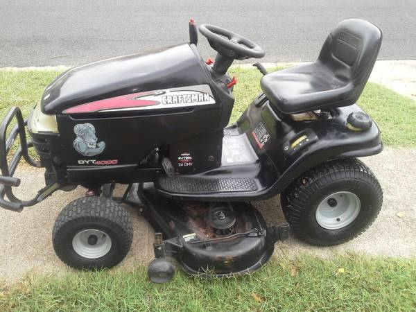 One Day Low Price 2004 DYT4000 Craftsman Riding Mower - $450 (Killeen)