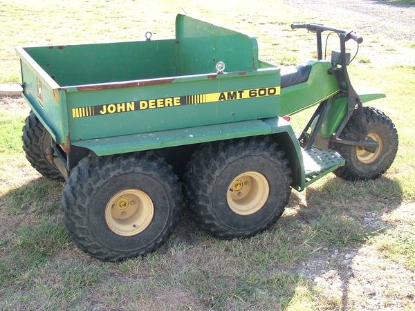John Deere AMT600 Five Wheel Gator - $850 (Salado)