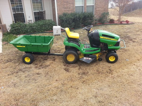 John Deere With Cart - $900 (Copperas Cove)