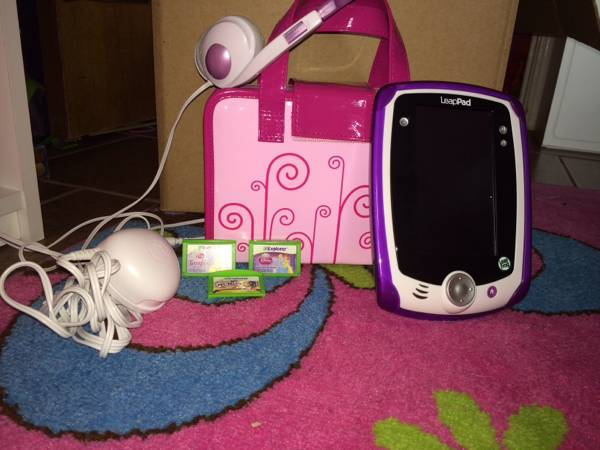 LeapFrog LeapPad Explorer Learning Tablet  Purple  -   x0024 100  Killeen
