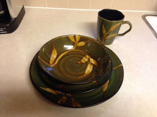 Set of Pier 1 Dishes - $85 (Harker Heights)