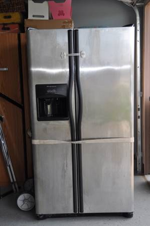 Unworking Stainless Steel Frigidaire Fridge, U-haul - $75 (killeen)