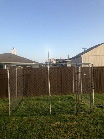 10X10 Outdoor Dog Kennel - $175 (Killeen)