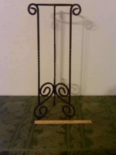 20  Decorative Wrought Iron Plant Stand