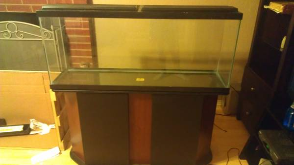 $200 55 gallon fish tank and stand - $250 (killeen)
