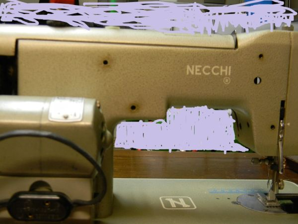 Necchi Sewing Machine Cabinet - $40 (Temple)
