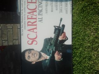 scarface and godfather posters - $10 (hh)