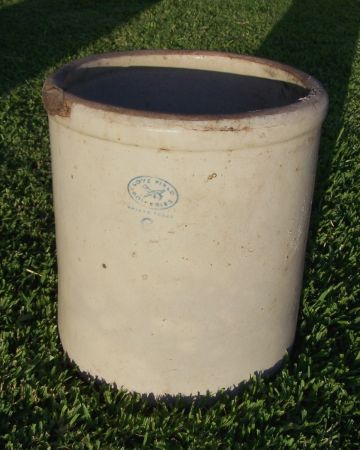 Old Antique Crock - Large 6 Gallon - Love Field - $40 (Salado)
