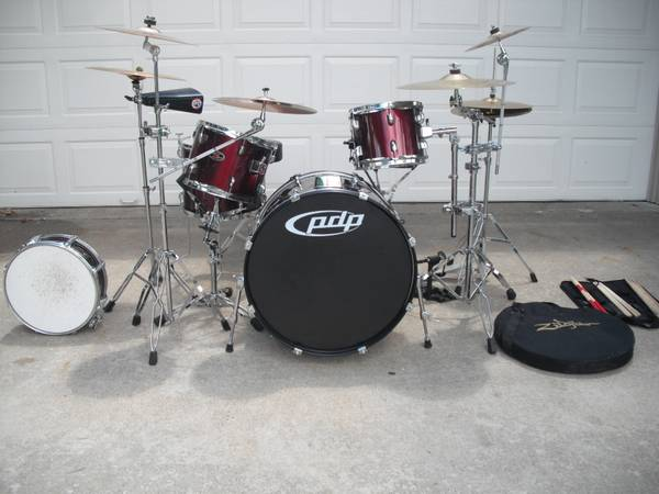 PDP Z5 Drum Set - $500 (Harker Heights)