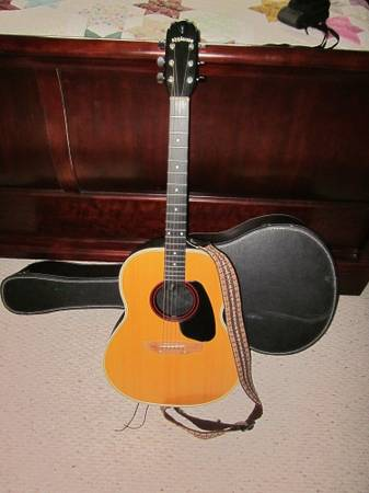 Acoustic Guitar - $115 (Temple)