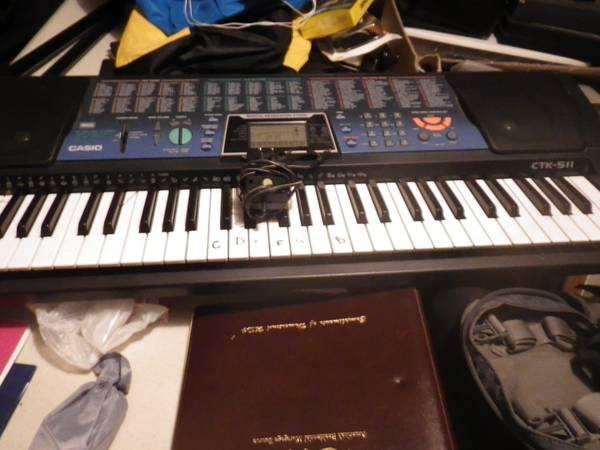 Casio CTK 511 Keyboard - $50 (Killeen)