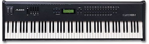 Alesis QS8.1 88-note keyboard - $355 (Harker Heights)