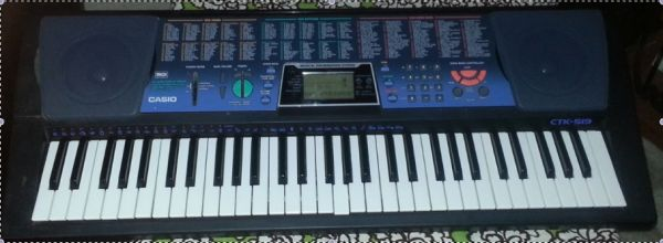 Keyboard - Casio CTK-519 - $30 (Fort Hood)