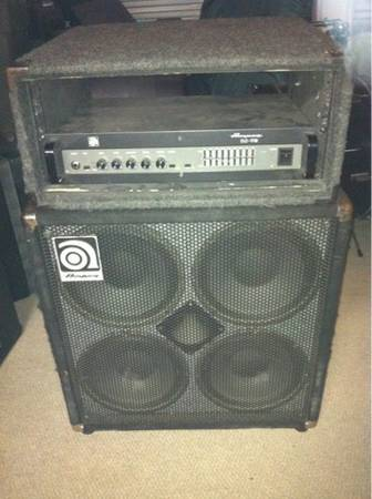 Ampeg B2RE Bass Head and 4x10 cabinet - $550 (Waco)