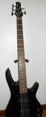 5 string ibanez soundgear - $180 (killeen, belton, temple, heights, cove)