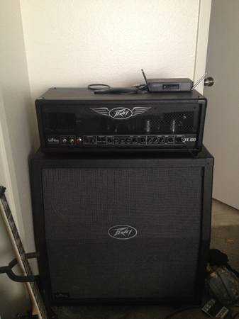 Peavey valveking half stack (Killeen)