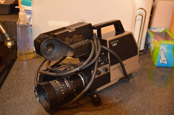 ZENITH COLOR VIDEO CAMERA - $5 (harker heights)
