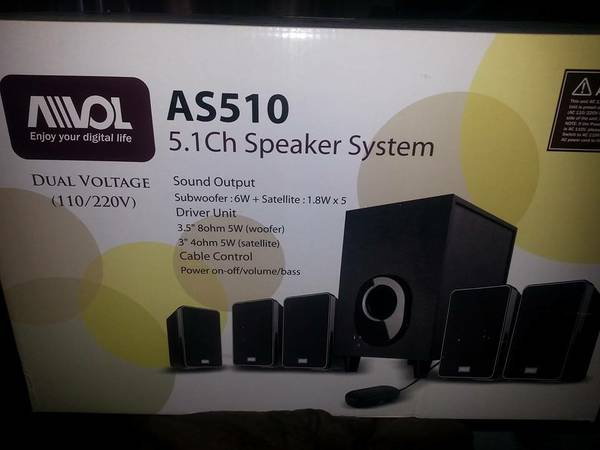 Avol AS510 home theater system - $60 (fort hood)