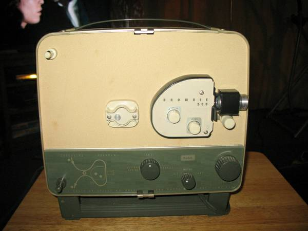 Kodak movie projector - $150 (LittleRiver)