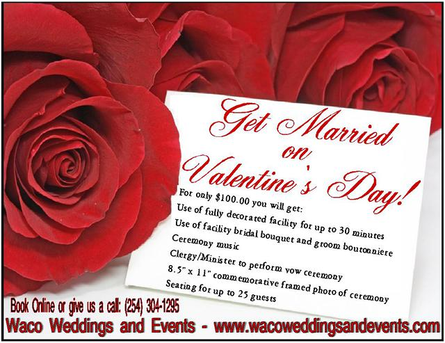 Get Married on Valentines Day